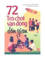 72 Tro Choi Van Dong Dan Gian Tap 1 (NXB The Duc The Thao 2006) - Nguyen Toan, 171 Trang.pdf