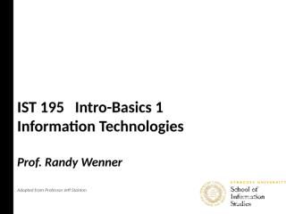 1A Intro-Basics 1.ppt