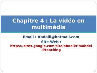 8.Systèmes video.ppt