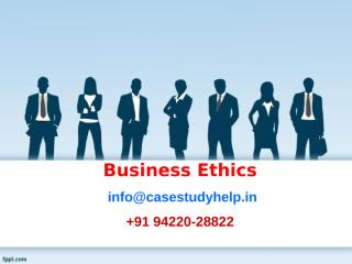 How it is possible to separate ethics from compliance in corporate life.ppt