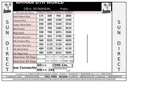 Prabu Recharge Rate Time table.xlsx