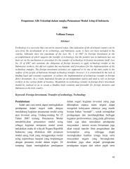 Pengaturan Alih Teknologi Dalam Penanaman Modal Asing Di Indonesia.pdf