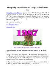 Phong thủy xem tuổi làm nhà cho gia chủ tuổi Đinh Mão (1).docx