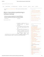 What is Equivalence partitioning in Software testing_.pdf