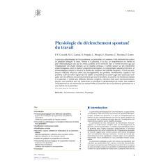 Physiologie du déclenchement spontané du travail (1).pdf
