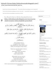 Yaa Hamil al Qur'an (Wahai Penghafal Qur'an) _ Idriwal's Corner.pdf