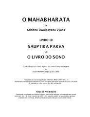 O Mahabharata 10 Sauptika Parva em português.pdf