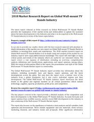 2018 Market Research Report on Global Wall-mount TV Stands Industry.pdf
