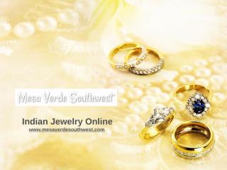 Indian Jewelry Online - mesaverdesouthwest.com.pptx