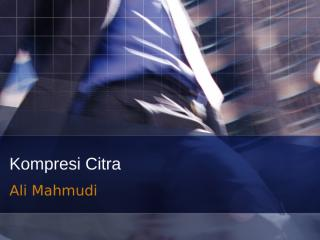 Kompresi Citra.ppt