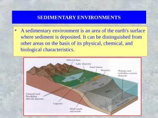 Sedimentary Environment.ppt