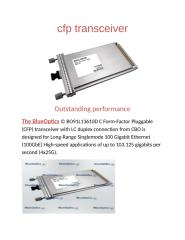 cfp transceiver.docx