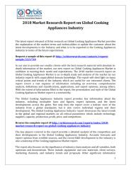 2018 Market Research Report on Global Cooking Appliances Industry.pdf