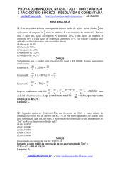 prova resolvida - banco do brasil 2010.pdf