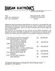 Presupuesto No. 7028. Sistema de Control de Acceso.doc