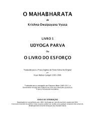 O Mahabharata 05 Udyoga Parva em Português.pdf