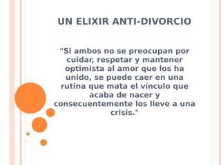 Un elixir anti-divorcio.pptx