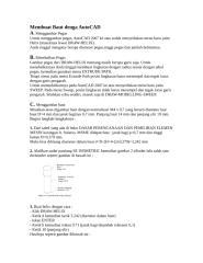 Membuat Baut & Roda Gigi dengan AutoCAD.doc