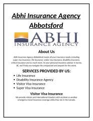 Visitor Visa Insurance Company.docx