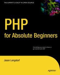 PHP for Absolute Beginners - www.enetlibrary.hostoi.com.pdf