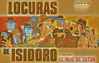 LOCURAS DE ISIDORO Nº13 (Jul.1969) EL HIJO DE SATÁN.cbz
